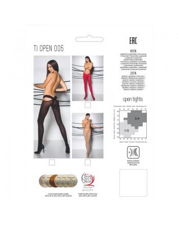 TI005B Collants 60 DEN - Noir