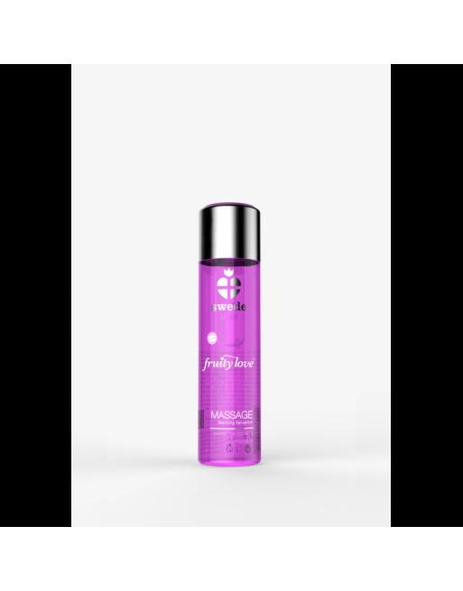 Huile de massage - Framboise Rhubarbe - 60 ml