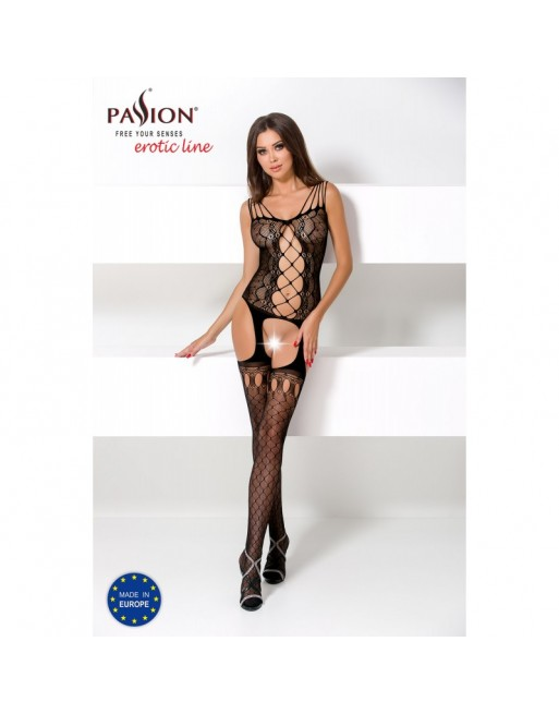 BS056a Bodystocking - Noir