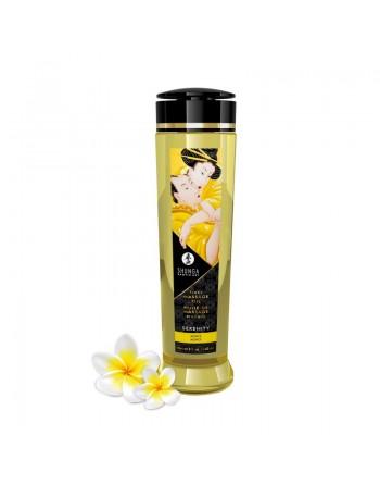 Huile de massage érotique - Serenity - monoi - 240 ml