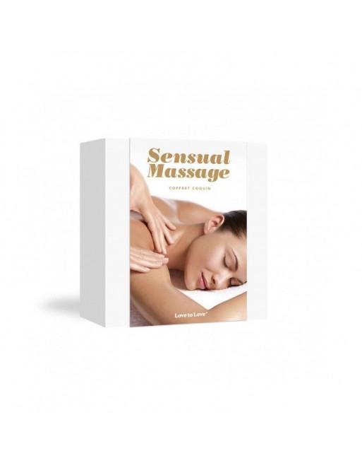 Coffret de massage sensuel
