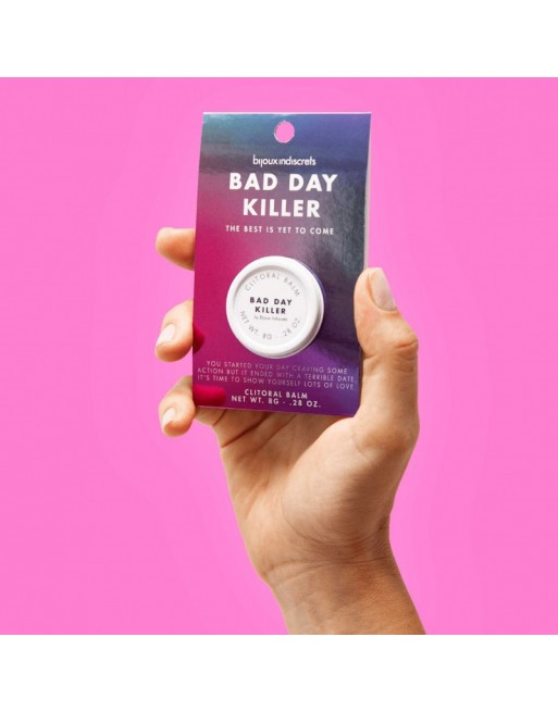 Baume orgasmique - Bad Day Killer - 8g - Clitherapy