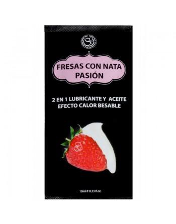 Monodose arome fraise au lait 10ml 3610