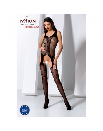 BS072B Bodystocking - Noir