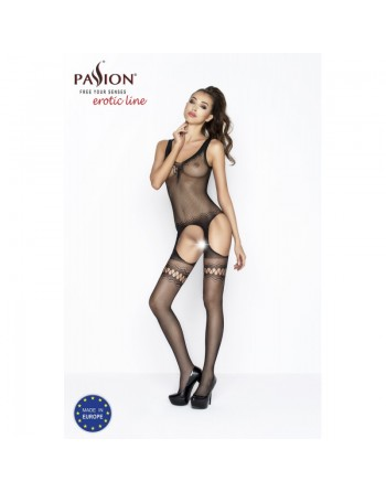 BS038B Bodystocking - Noir