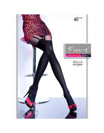 Milla Collants 40 DEN - Noir