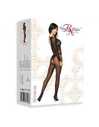 Ximena Bodystocking - Noir