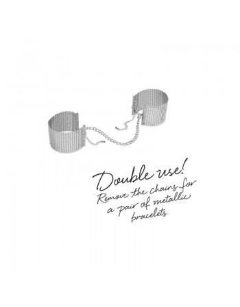 Desir Métallique - Menottes Bracelets - Argent