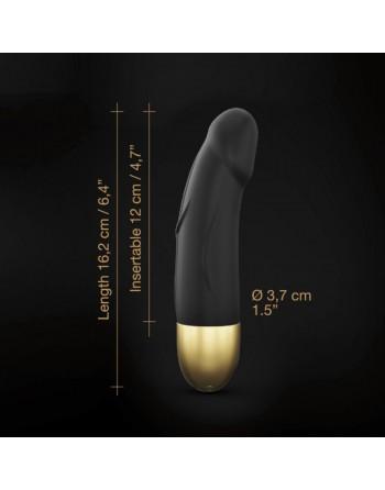 Vibromasseur Real Vibration S 16 cm 2.0 - Noir  Or