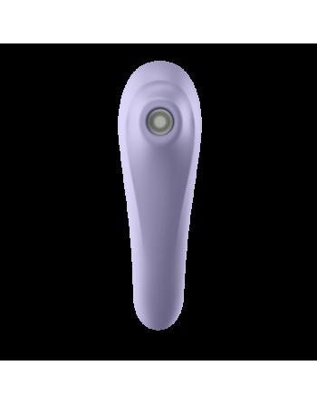 Stimulateur connecté Satisfyer Dual Pleasure - Mauve