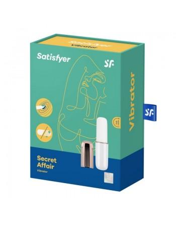 Stimulateur Satisfyer Secret Affair - Blanc