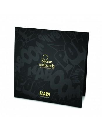 Flash - Cache-tétons Coeur - Or