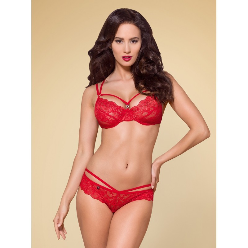 860-SET-3 Ensemble 2 pcs - Rouge
